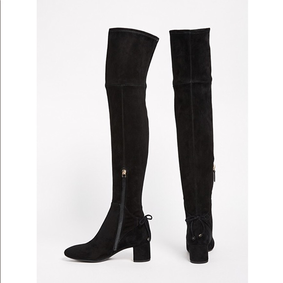 111c7586c21a88 Tory Burch Laila Suede over the knee boots